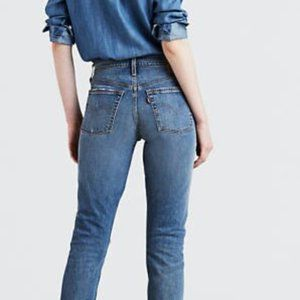 Levi's 501 S Skinny Jeans Button Fly 26